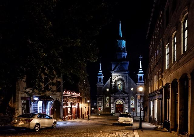 Quiet Night in a North American Metropolis
