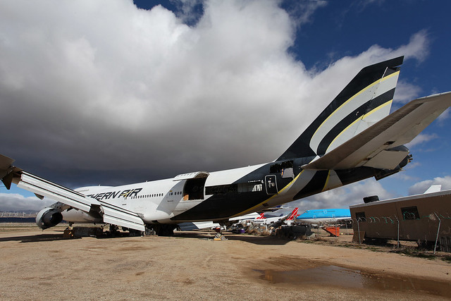 N761SA Boeing 747-2F6B/SF Southern Air Transport