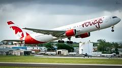 Air Canada Rouge   C-GHLA   Boeing 767-35HER   BGI