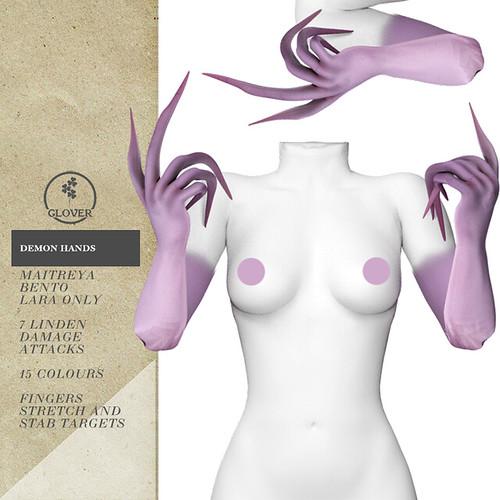 Clover - Demon arms