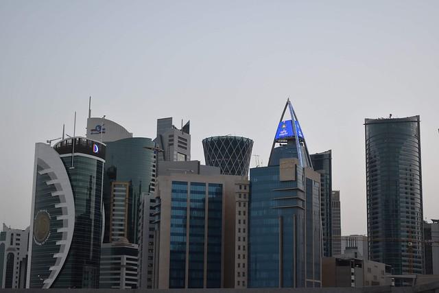 The city, Doha Qatar