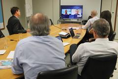 Reunião do Programa de Enfrentamento à Desinformação com Twitter.