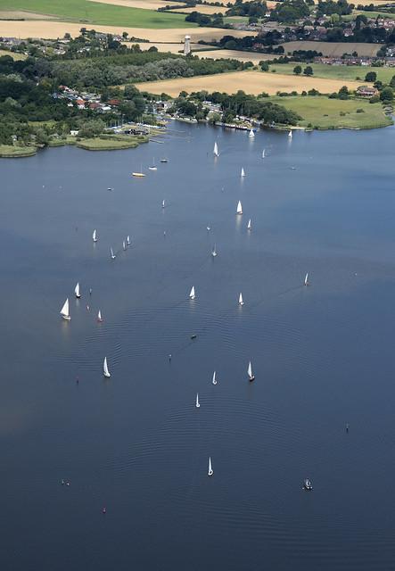 Hickling Broad aerial image