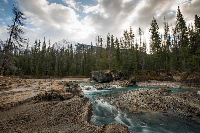 Natural Bridge (upstream) Yoho National park Canada