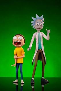 超ㄎㄧㄤ表情完全捕捉,多款經典道具收錄! Mondo《瑞克和莫蒂》瑞克和莫蒂人偶組 Rick & Morty Figure Set 普通版/豪華版(Mondo Exclusive)