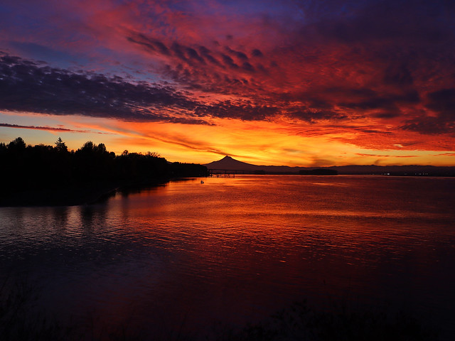Sunrise in Vancouver, WA