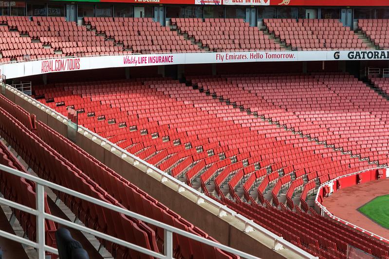 London: Arsenal Emirates Stadium Sitzplätze