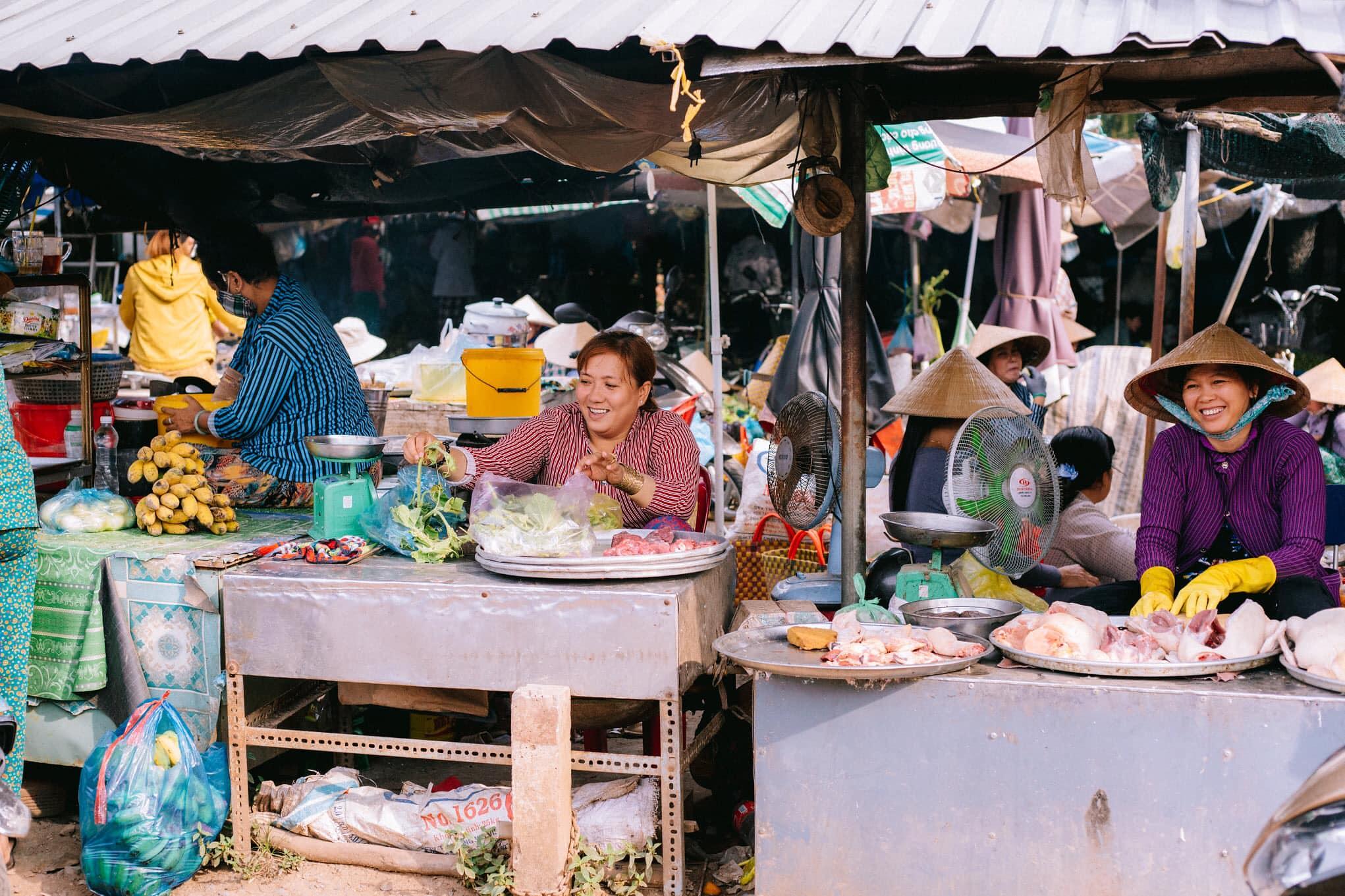 Chợ quê miền Tây (Tân Hội - Cai Lậy)
