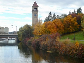Day 2 - Dash to Spokane - Spokance downtown walk 1