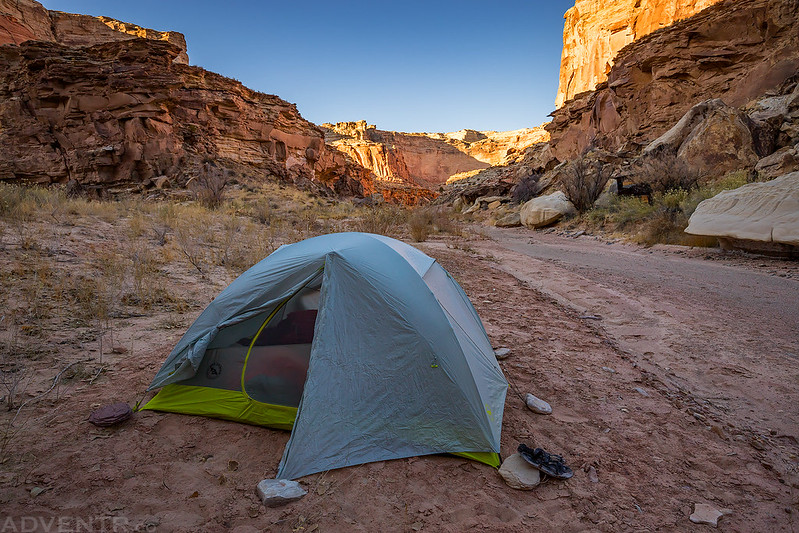 Chimney Canyon Campsite