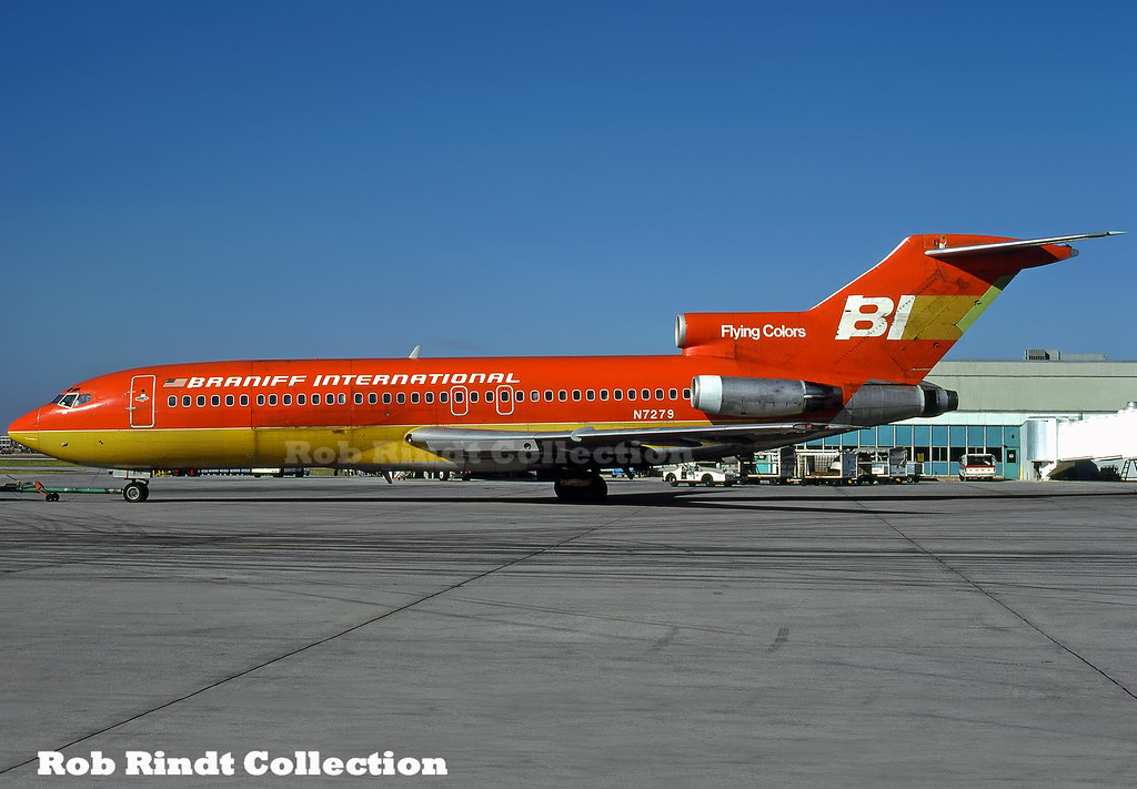 Braniff International B727-27C N7279
