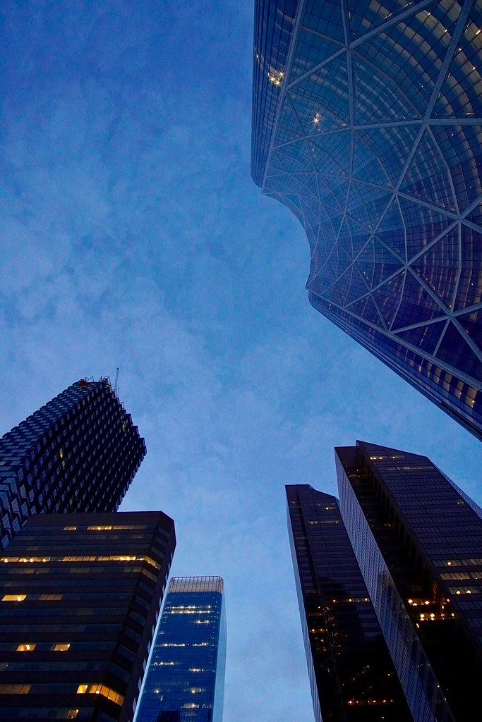 Tallest towers, Calgary, Alberta, Canada
