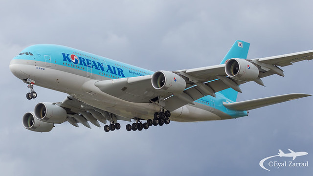 LHR - Korean Air Airbus A380-800 HL7612