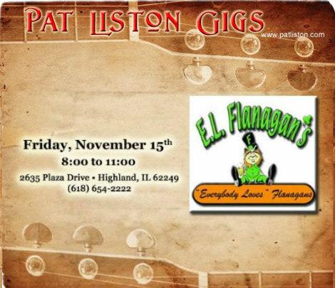 Pat Liston 11-15-19