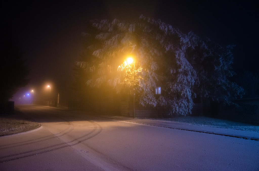 Erster Schnee der Saison