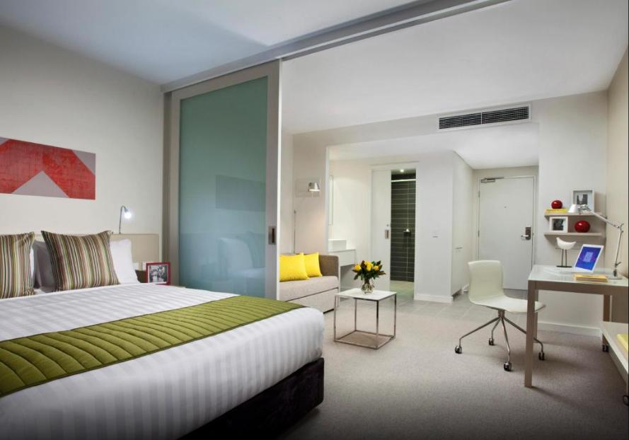 墨爾本伯克西塔迪內斯公寓飯店 (Citadines on Bourke Melbourne )