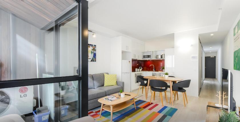 墨爾本公寓式酒店推薦羅素廣場上坎瓦斯套房酒店 (Canvas Suites on Russell Place)
