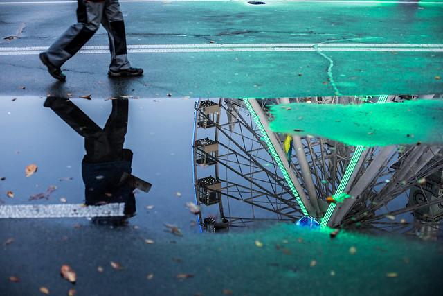 Street Reflections, Kyiv
