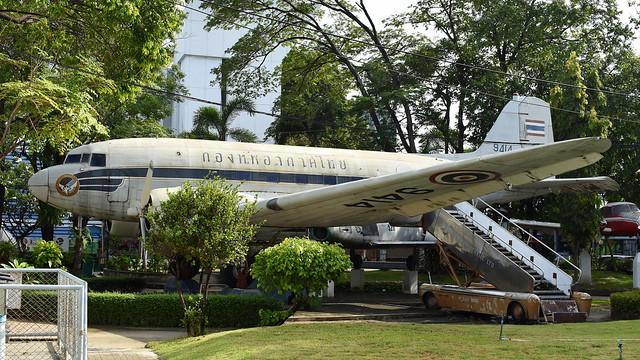 Douglas C-47 Skytrain c/n 9414 Thailand Air Force serial 9414
