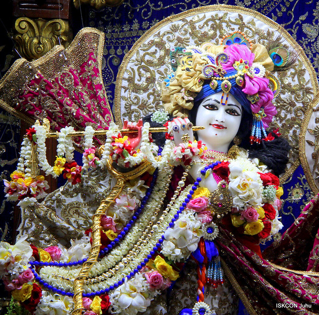 ISKCON Juhu Sringar Deity Darshan on 12th Nov 2019