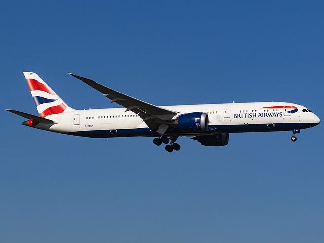 British Airways | Boeing 787-9 Dreamliner | G-ZBKF