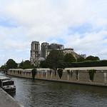 Notre Dame vue du quai de Montebello