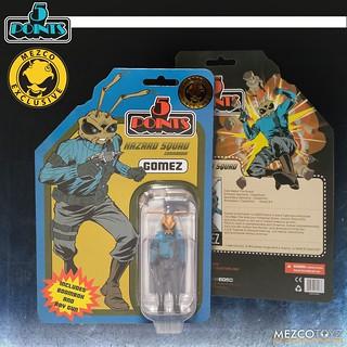 代號 The Roach,出擊! MEZCO 5 POINTS 系列【Gomez: 危機小隊指揮官】Gomez: Hazard Squad Commander 3.75 吋吊卡玩具【Fall Exclusive 2019】