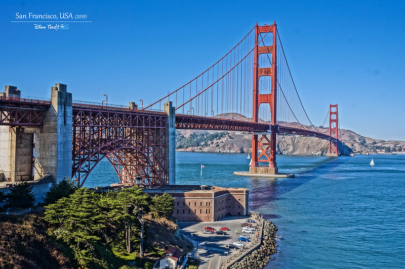 2019 USA San Francisco Golden Gate