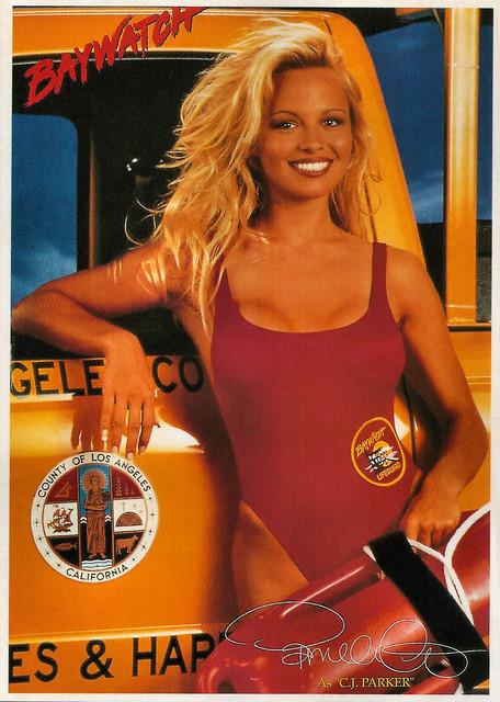 Pamela Anderson in Baywatch (1992)