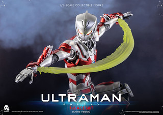 以動畫版之姿登場!threezero《ULTRAMAN 超人力霸王》ULTRAMAN ACE SUIT [Anime Version] 1/6 比例可動人偶