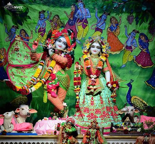 ISKCON Pune NVCC Deity Darshan 12 Nov 2019