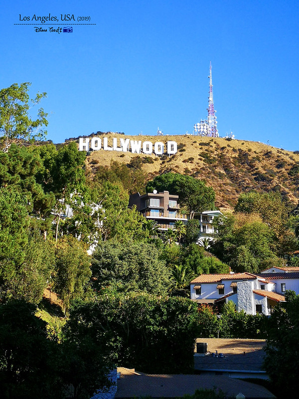 2019 USA Los Angeles Hollywood Sign