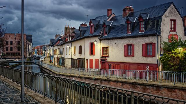 Amiens, Quartier Saint-Leu.