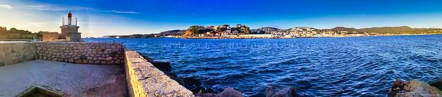 Panorama sur Bandol depuis l'Île de Bendor -IMG_20191109_163134