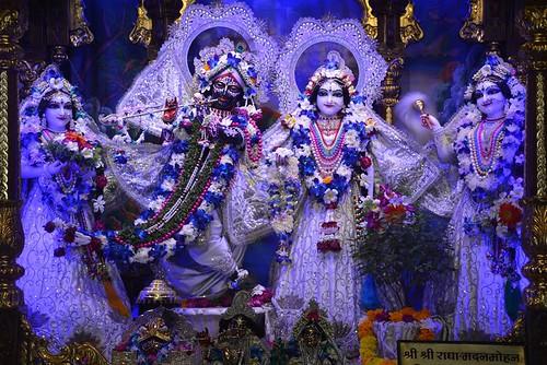 ISKCON Ujjain Deity Darshan 12 Nov 2019