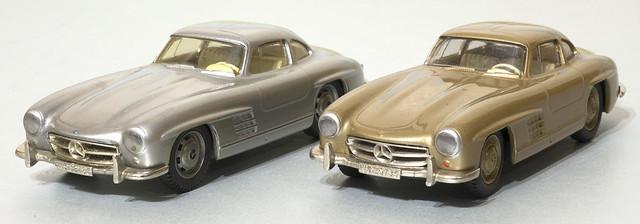 Somerville Models Mercedes Benz 300SL Gullwing