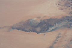 Richat Structure in its Ridge