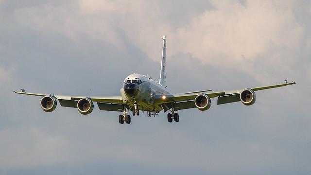 64-0841, Boeing RC-135W US Air Force @ RAF Fairford EGVA