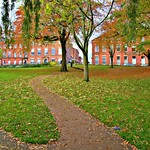 Autumn at Winckley Square Preston