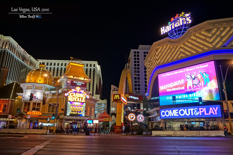 2019 USA Las Vegas At Night