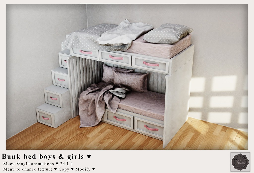 {YD} Bunk Bed Boys & Girls ♥