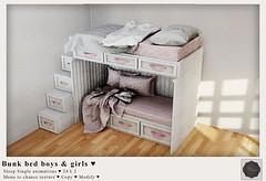 {YD} Bunk Bed Boys & Girls ♥