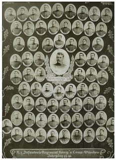 Archiv U396 Königliches Infanterie-Regiment, 8. Companie, München, Jahrgang 1894-1896