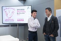 Presentació de la Masterclass solidària de cycling en benefici de l'Associació Andorrana per la Malaltia d'Alzheimer