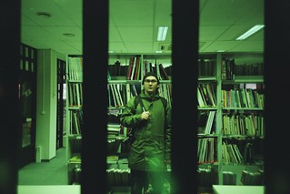 Levani in the library