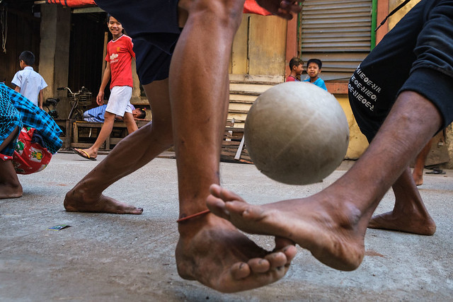 Football - Yangon, Myanmar