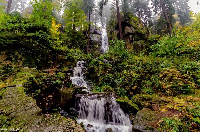 Der Blauenthaler Wasserfall