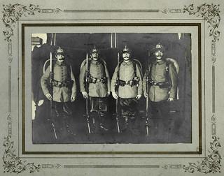 Archiv U393 Kaiserzeit, Soldaten, WWI, 1914-1918
