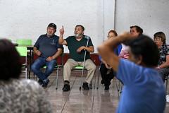 Reunion con dirigentes sociales de San Bernardo.