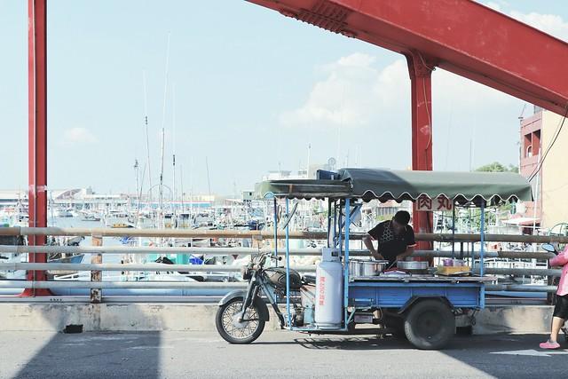 豐漁橋與肉丸攤